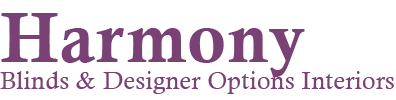 Harmony Blinds and Curtains Logo